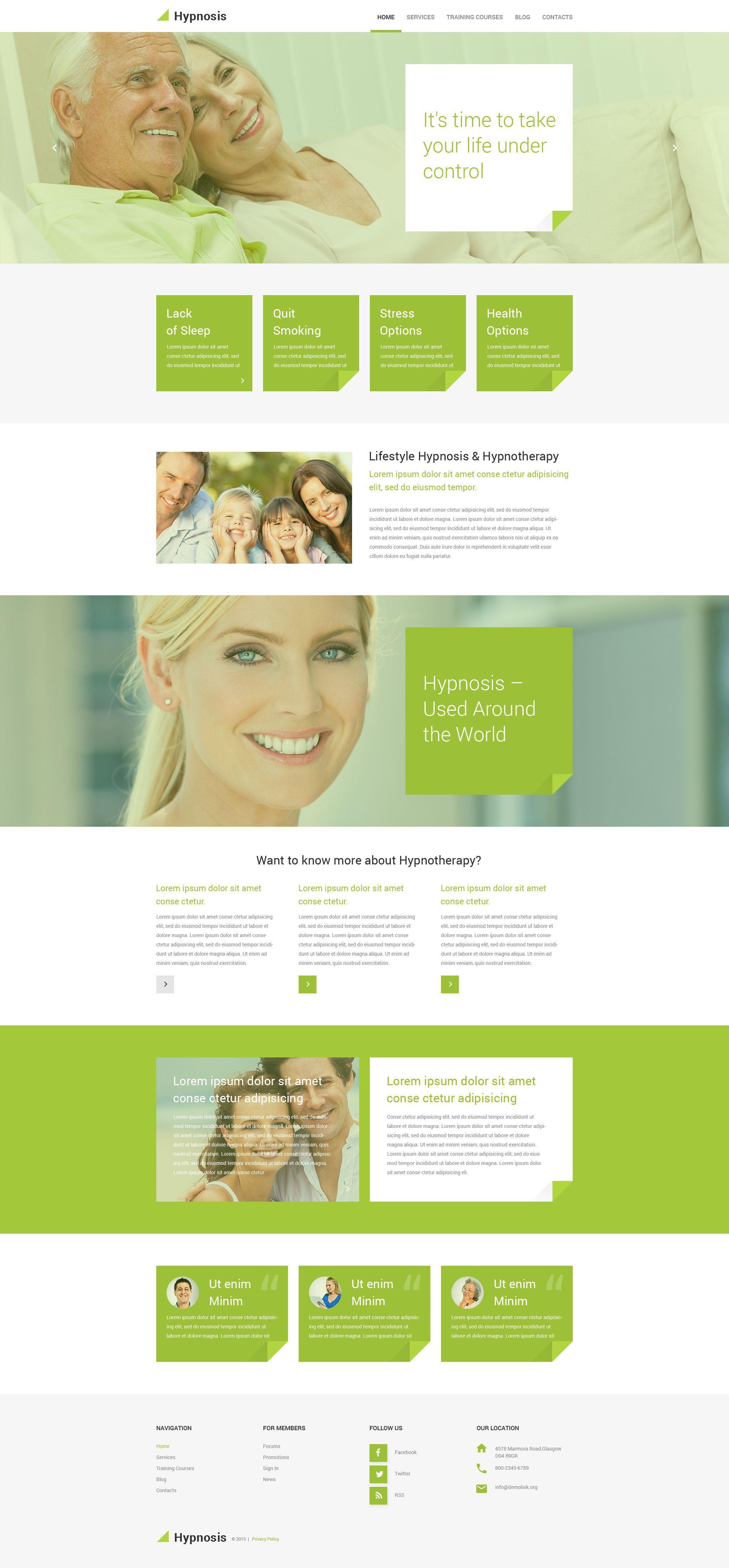 Hypnosis WordPress Theme | Wordpress