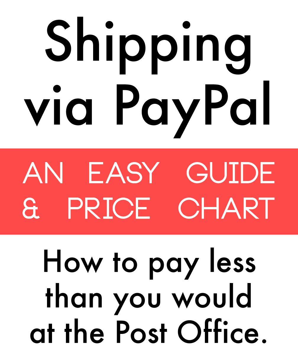 1 27 19 Tutorial How To Ship Via Paypal An Easier And Cheaper Postage Alternative To The Post Office Ebay Selling Tips Things To Sell Selling On Ebay