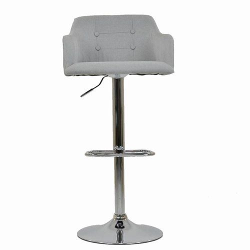 Metro Lane Perdue Height Adjustable Bar Stool With Images Grey