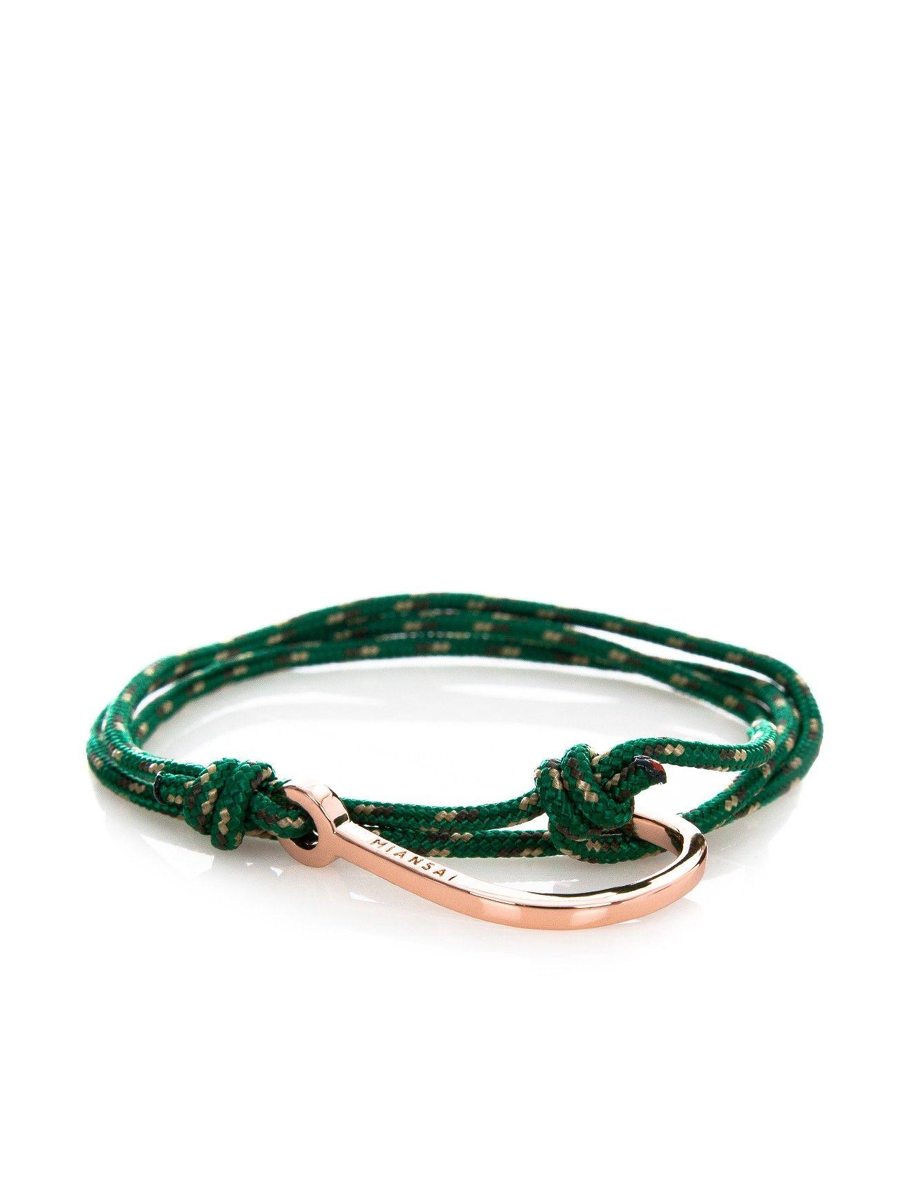 Scoop nyc miansai rope bracelet gold hook men gifts