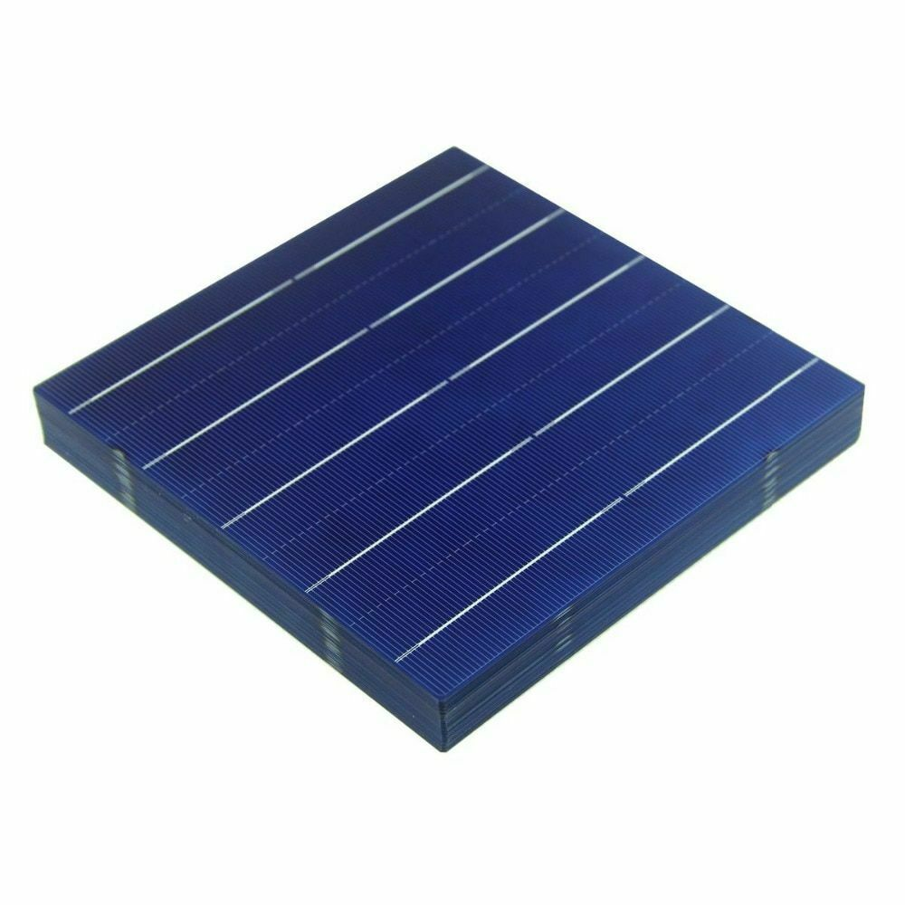 10 Pieces 156x156 Poly Solar Cell Polycrystalline Photovoltaic Energy Panel Diy Unbranded Daily Solar Energy Panels Best Solar Panels Solar Panels