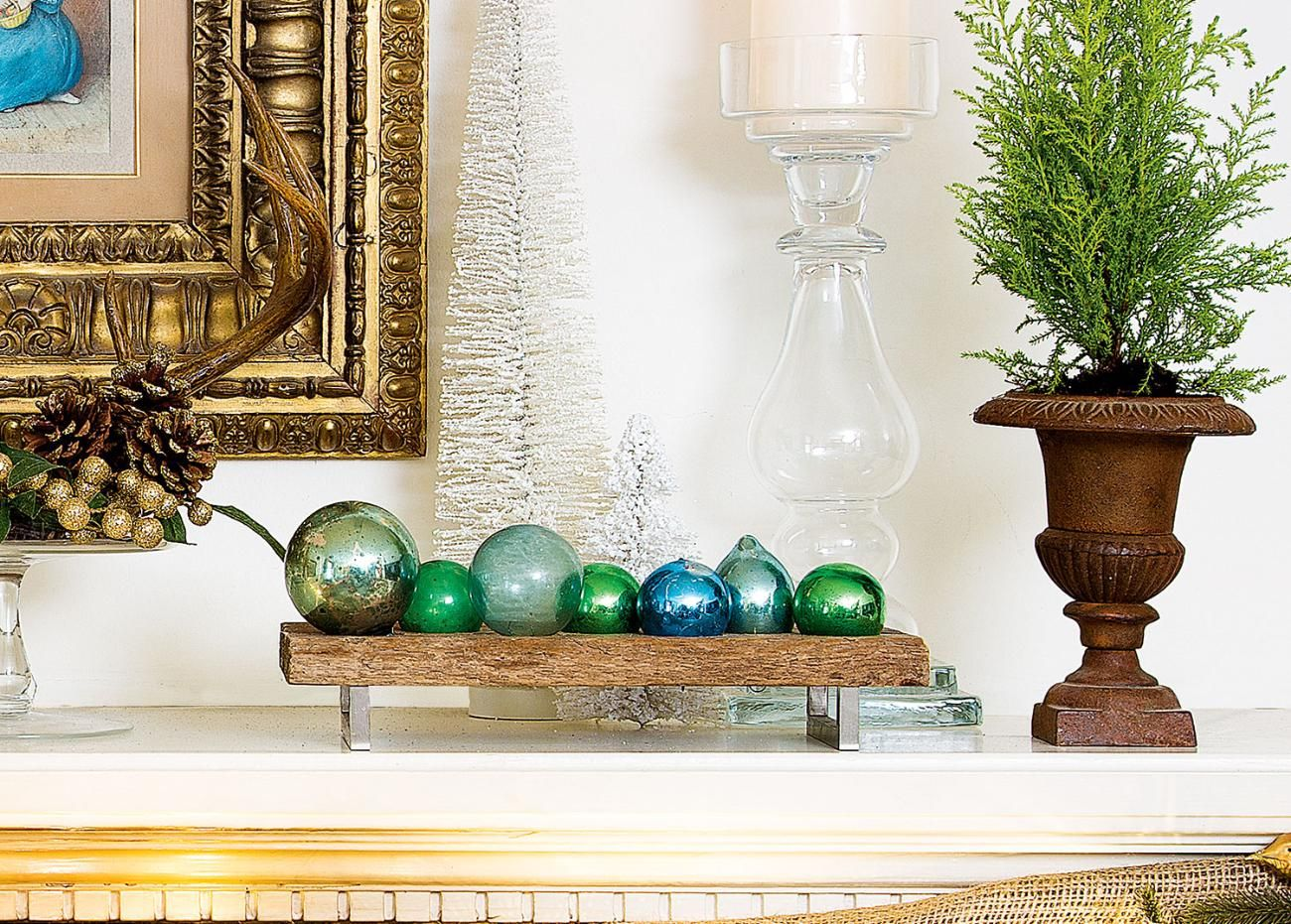 ways to decorate your home for christmas decorating ornament