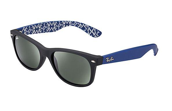 óculos ray ban wayfarer azul
