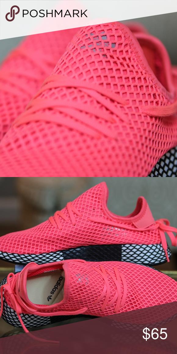 adidas deerupt pink mens