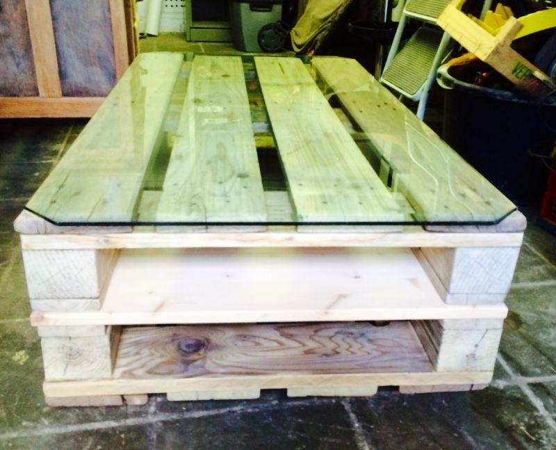 Fabriquer une table basse en palette | Table basse, Palettes euro et ...