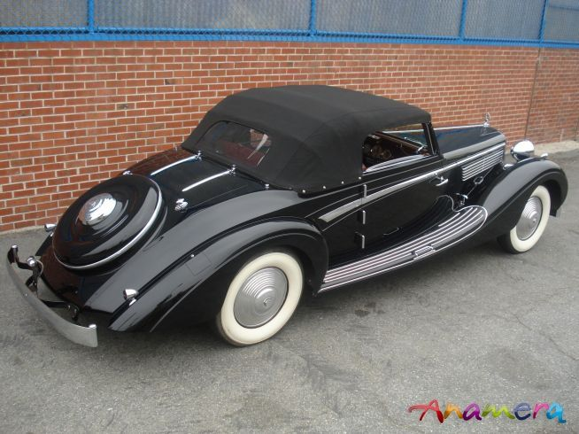 1938 Maybach SW 38 Roadster Maintenance/restoration of old/vintage vehicles: the material for new cogs/casters/gears/pads could be cast polyamide which I (Cast polyamide) can produce. My contact: tatjana.alic@windowslive.com