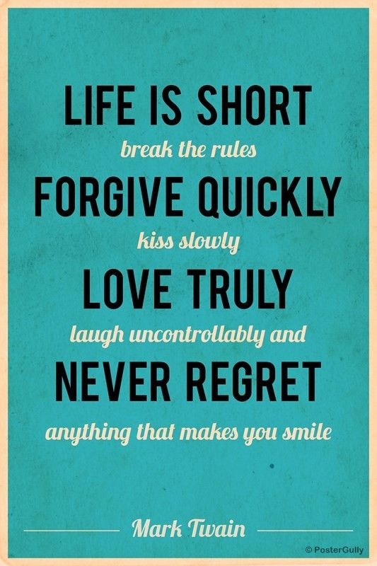 Life Is Short Mark Twain Quote