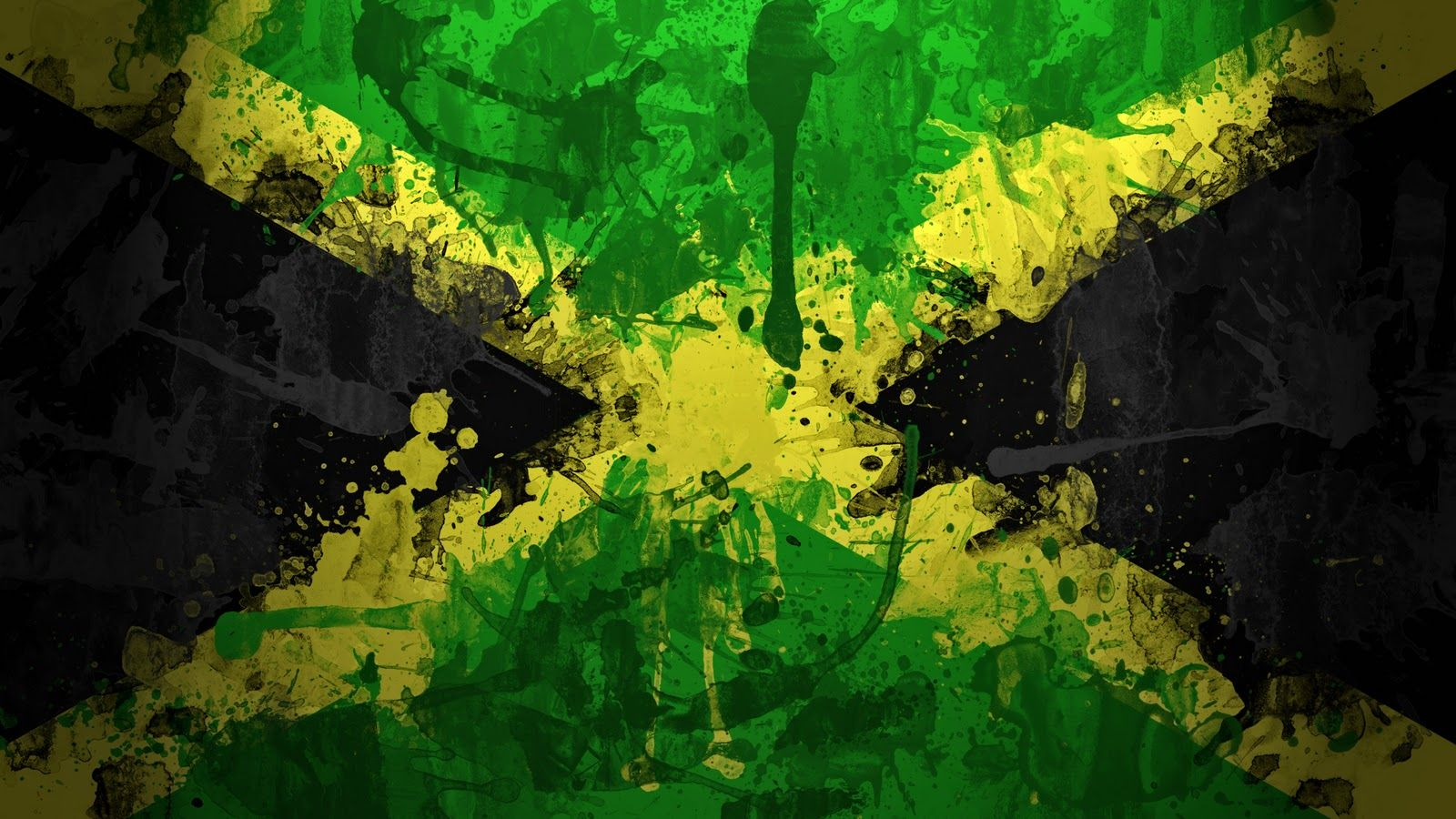 Jamaica Jamaica Flag Jamaican Flag Jamaica