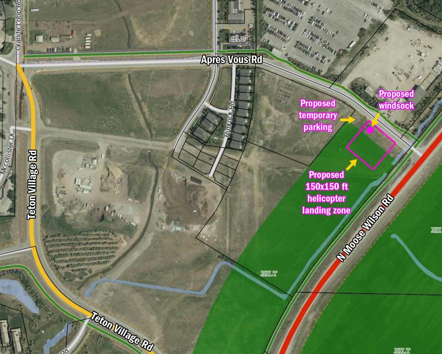 Emergency helipad proposed for Village Jackson Hole News