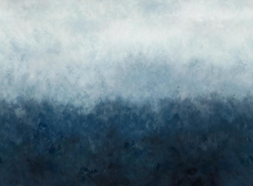 Mural gradient stormy blue Blue wallpapers, Ombre