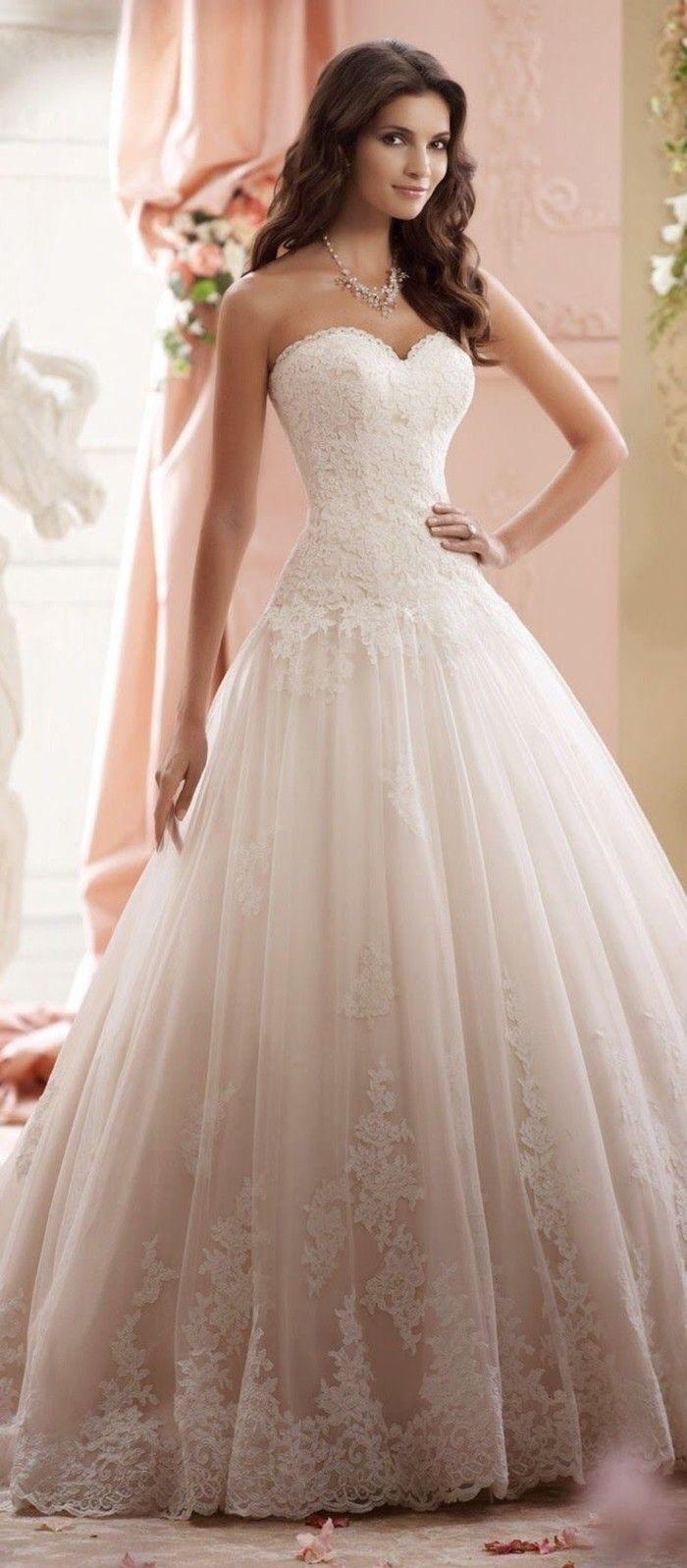 Hochzeitskleider spitze 2015