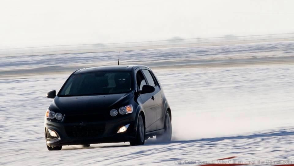 The Sonic Handles Winter Like It S Snow Problem Chevy Sonic