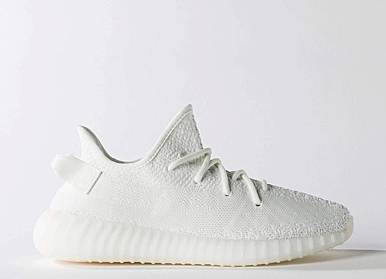 536b7f2c1267e4 An all white Yeezy Boost is FINALLY releasing in the Yeezy Boost 350 V2  silhouette and the release date is just around th