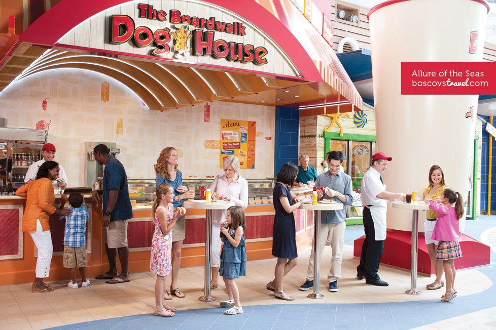 Royal Caribbean Allure Of The Seas Doghouse Restaurant Travel