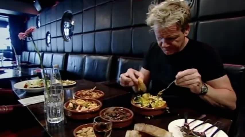 Great British Nightmare Runaway Girl Silversmiths Open Chef Gordon Ramsay Tapas Restaurant Gordon Ramsay