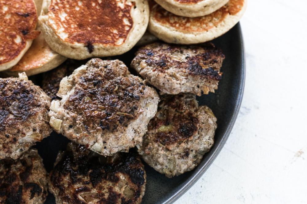 Apple Turkey Breakfast Sausage — I Heart Macros