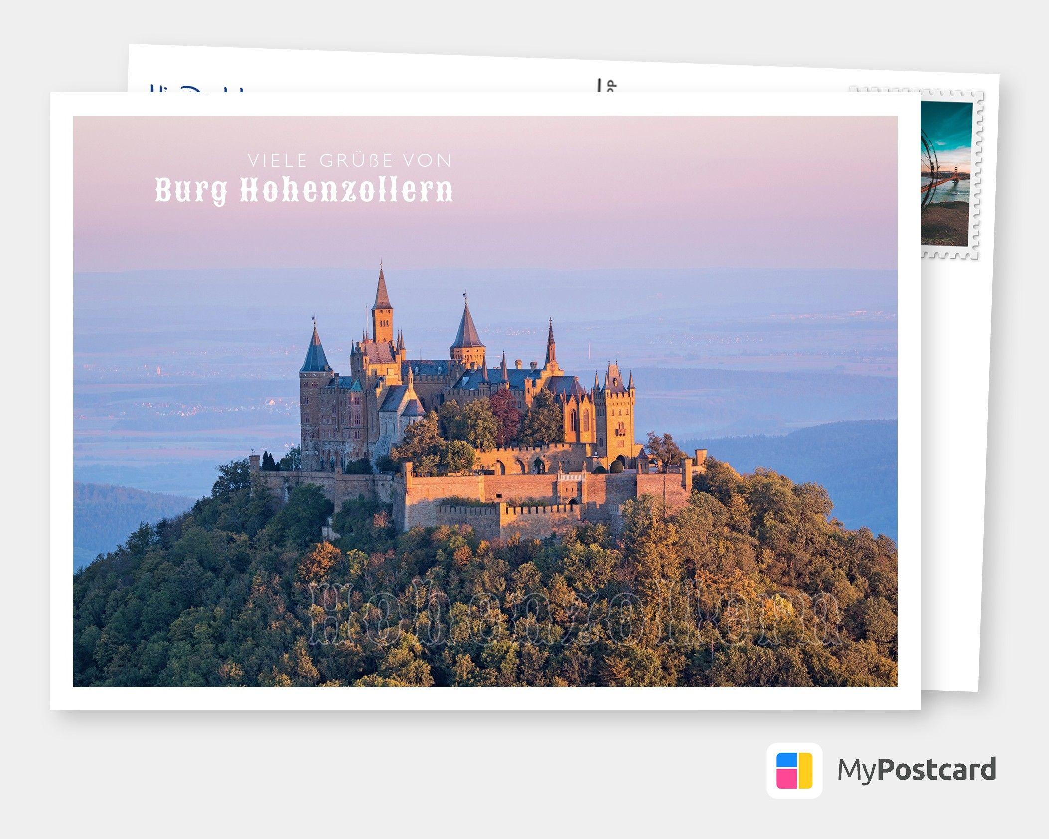 Burg Hohenzollern Urlaubsgrusse Und Spruche Echte Postkarten Online Versenden In 2020 Burg Screenshots
