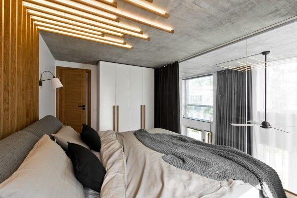 Nice chic scandinavian loft interior