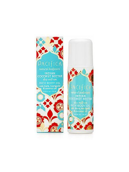 Pacifica Indian Coconut Nectar Dry Roll-On Rich Body Oil | allure.com