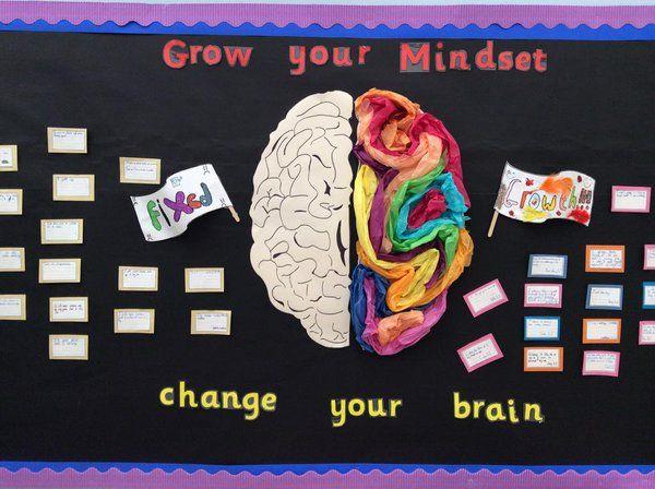 growth mindset brain display - Google Search | School Stuff ...