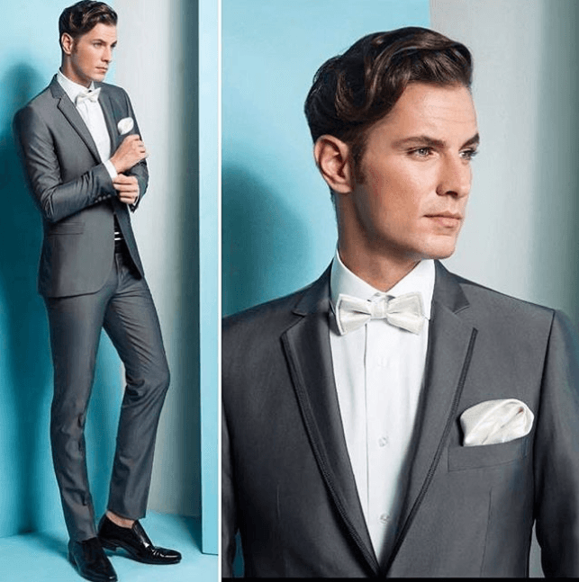 Dark-Grey-Prom-Suit-with-Black-Formal-Shoes 30 Best Charcoal Grey ...