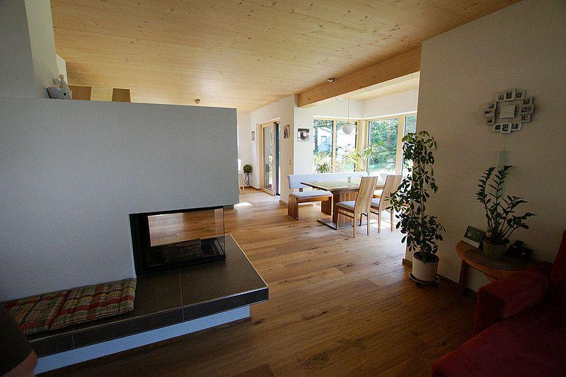 Holzhaus modern - Holzbau Herbst Infos Hausbau Pinterest