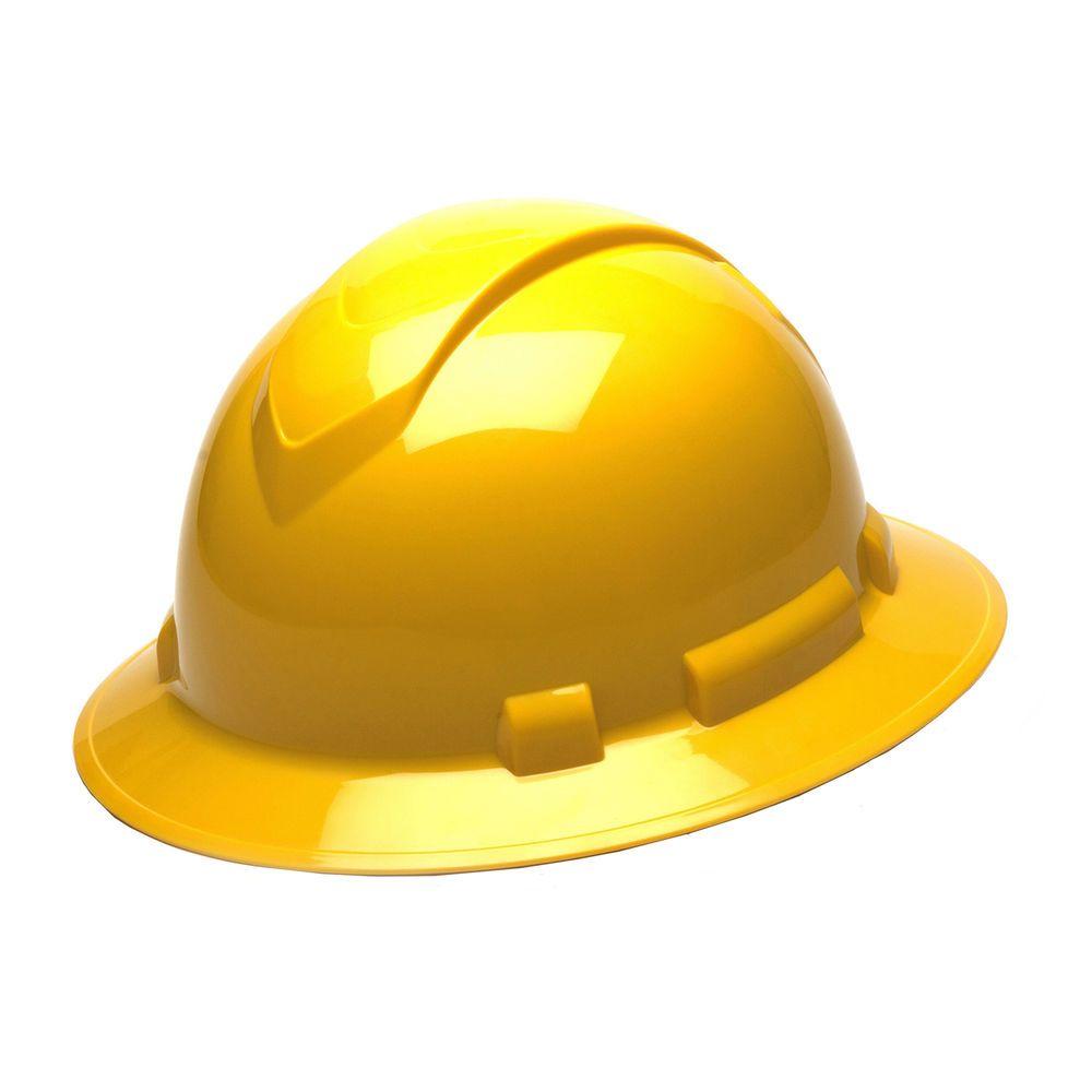 Pyramex Safety Products Hp54130 Rl Full Brim 4 Pt Ratchet Yellow Ebay Link Hard Hats Hard Hat Hats