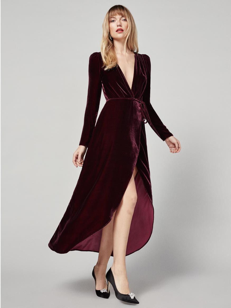 536645c771aa6 Grenache dress// #dress #MaxiiDress #WrapDress #garnet #velvet #fashion # style #stylish #RefBabe #reformation @reformation