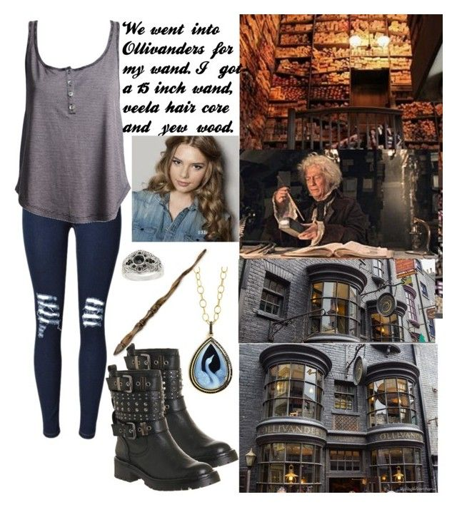 """Ollivanders"" by charleymalfoy ❤ liked on Polyvore featuring Office, Ash, Syna and Topshop"