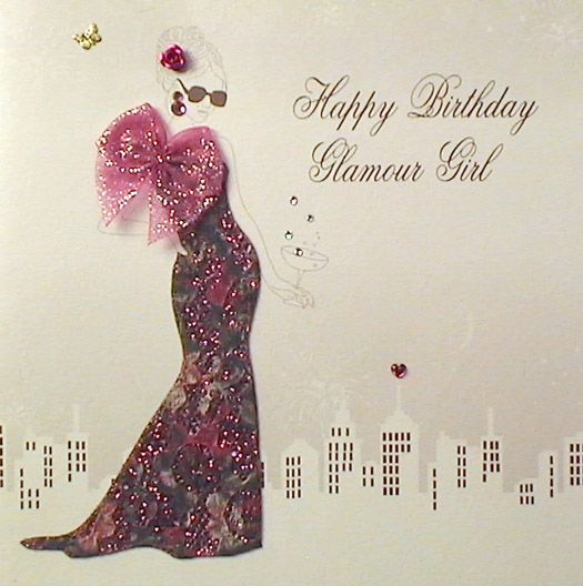 Birthday card for teen daughter mojolondon happy birthday glamour birthday card for teen daughter mojolondon happy birthday glamour girl card by five dollar bookmarktalkfo Image collections