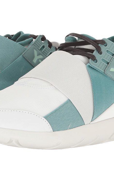 adidas Y-3 by Yohji Yamamoto Y-3 Qasa Elle Lace (Ftw White/Vapour Steel/Crystal  White) Women's Shoes - adidas Y-3 by Yohji Yamamoto, Y-3 Qasa Elle Lace, ...