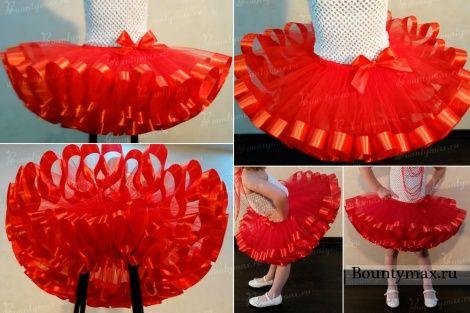 Как сделать юбку пачку 899