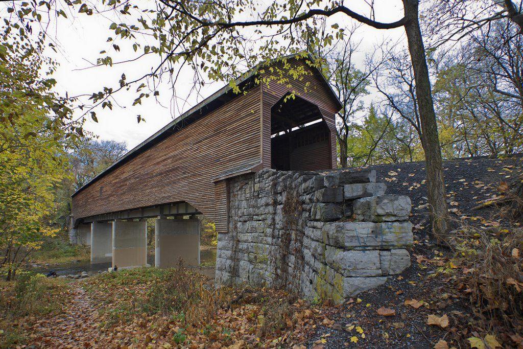 Virginia Covered Bridge 46 82 01 Meems Bottom Shenandoah County
