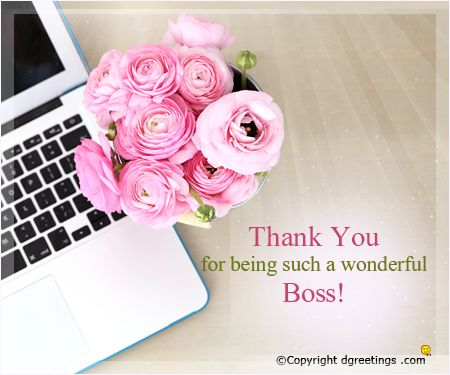 On bosss day send this beautiful card to convey your thanks boss thank you images for boss thank you cards greeting cards e cards m4hsunfo