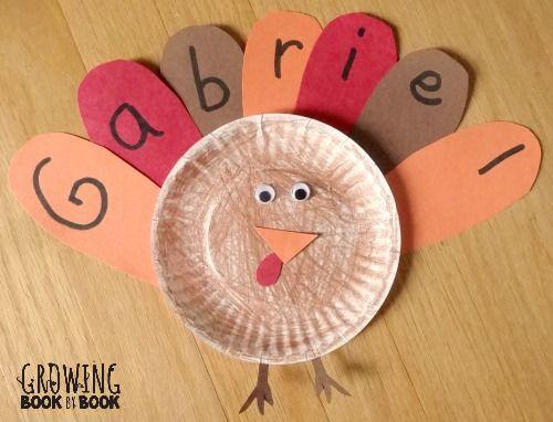 Name Activities Feather Letter Turkey Thanksgiving Crafts Thanksgiving Crafts For Toddlers Thanksgiving Preschool