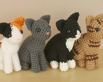 Amigurumi Magazine Pdf : Pdf amicats calico cat amigurumi cat crochet pattern cat