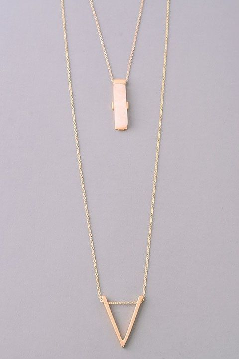 Layer Arrow Necklace