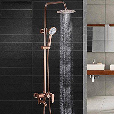 Salle de bain douche robinets de douche en aluminium - Robinet salle de bain douche ...
