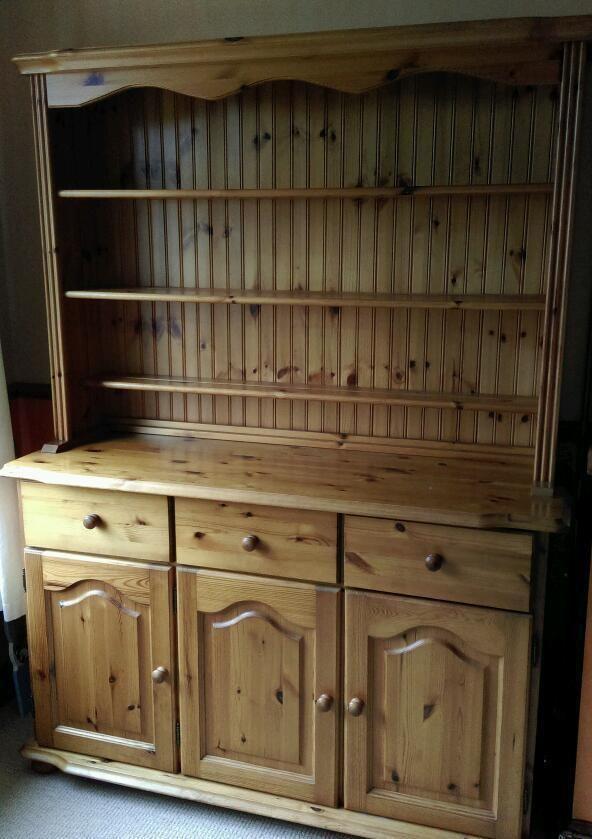 pine welsh dresser  cwmbran torfaen  gumtree  living