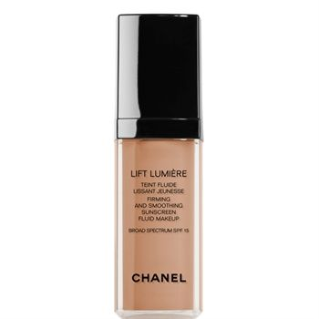 CHANEL - LIFT LUMIÈRE FIRMING AND SMOOTHING SUNSCREEN FLUID MAKEUP BROAD SPECTRUMSPF 15 More about #Chanel on http://www.chanel.com