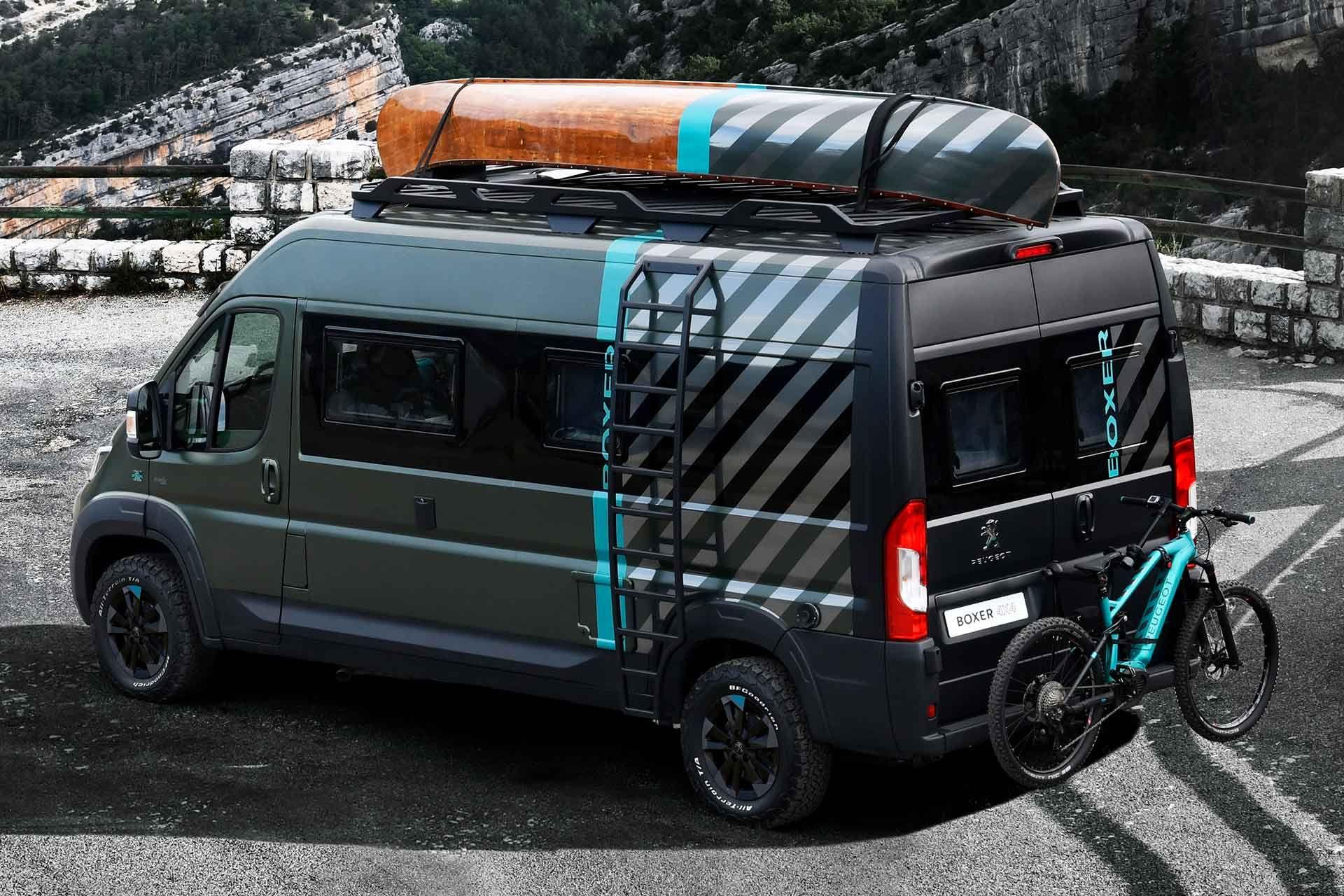 Peugeot Boxer 8×8 Camper Van Concept  8x8 camper van, Van, Peugeot