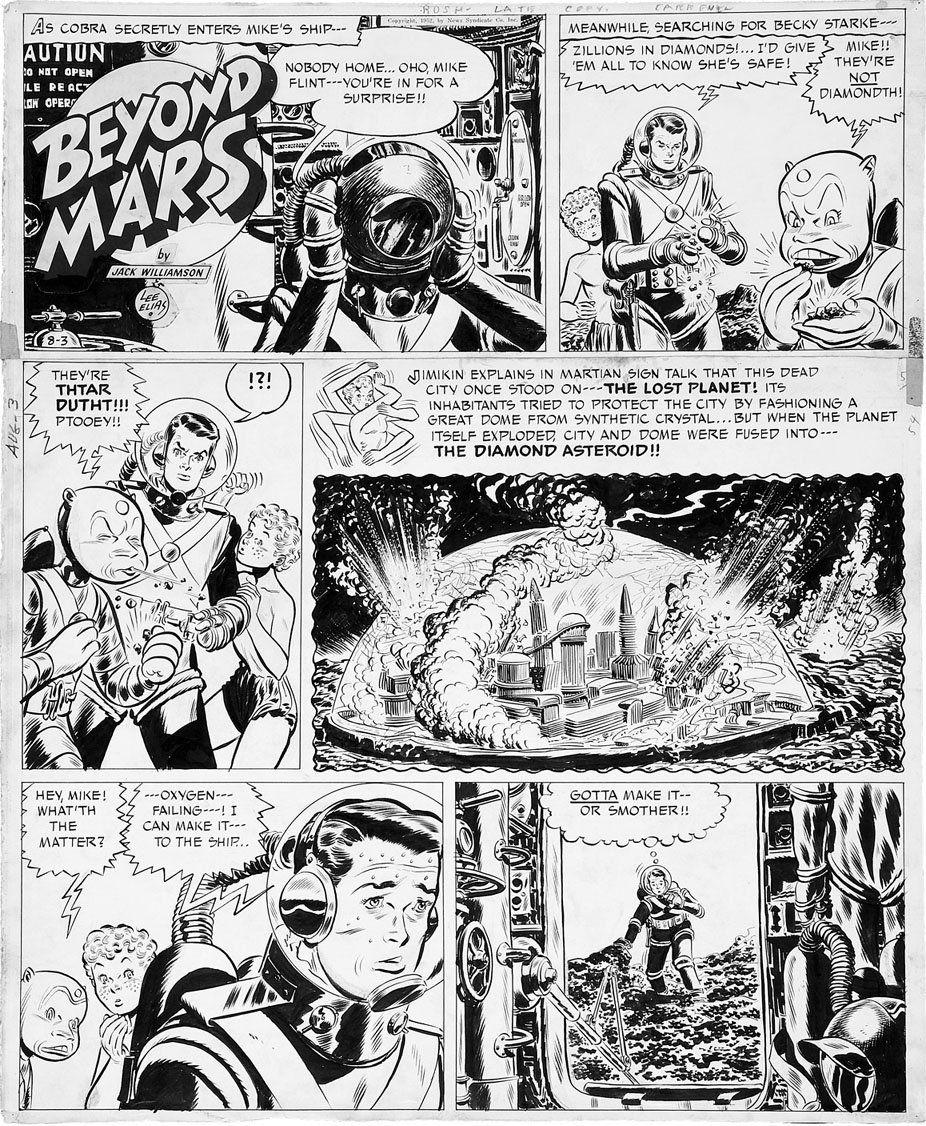 lee elias Planet Comics, Comic Books Art, Comic Art, Book Art, Vintage