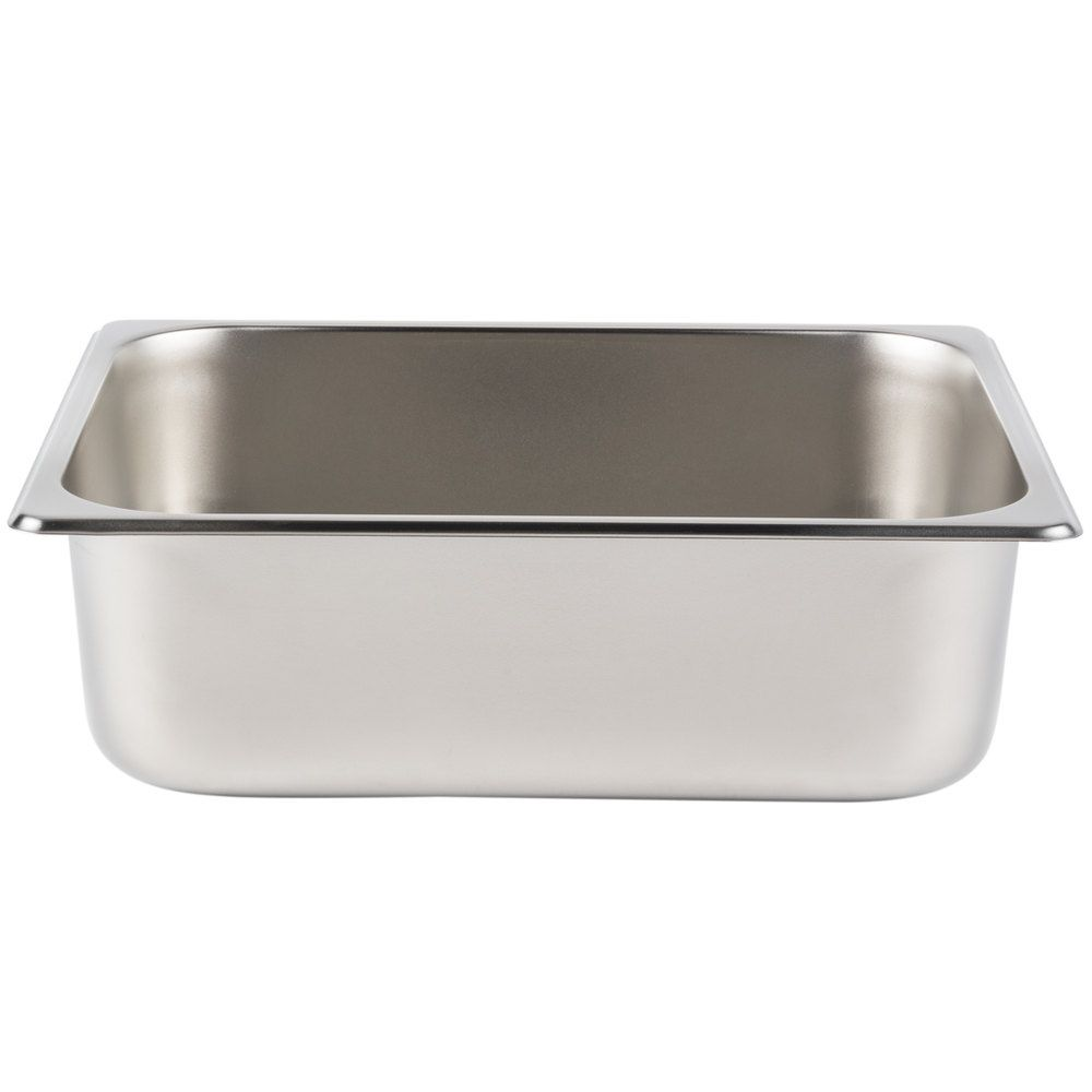 1 2 Size 4 Deep Stainless Steel Steam Table Hotel Pan 25 Gauge Steam Tables Steam Table Pans Stainless Steel