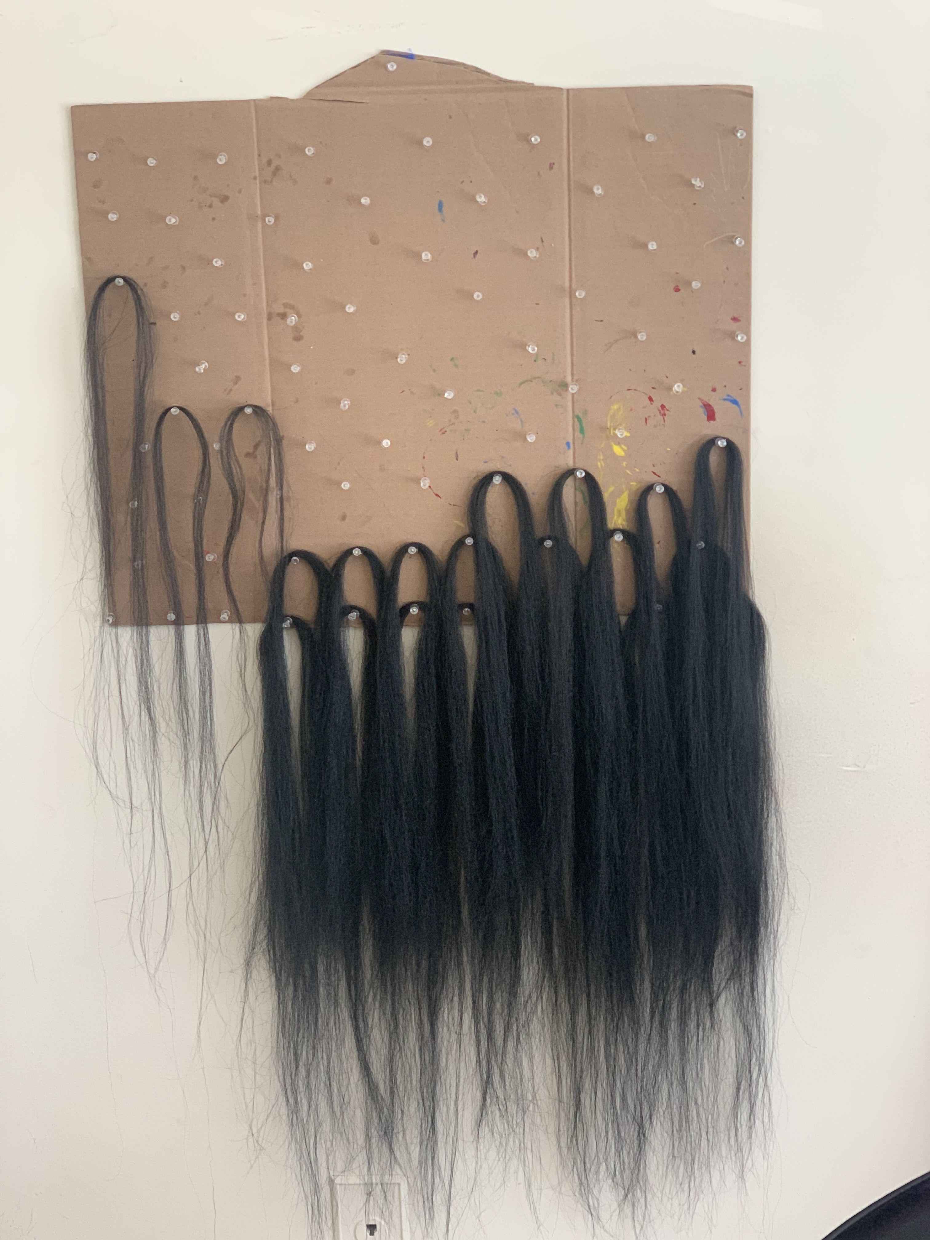 diy hair weave rack feedin braid