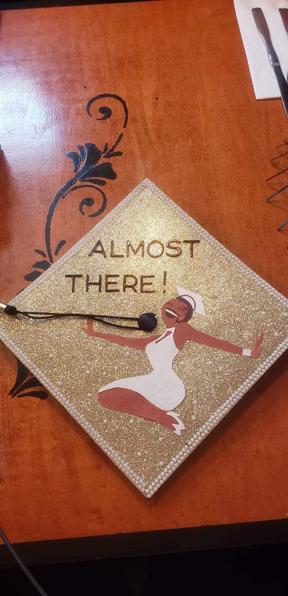 Disney Graduation Cap - Princess and The Frog