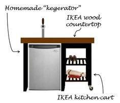 Ikea Hacks Bekvam Kitchen Cart Kitchen Cart Ikea Mini Fridge