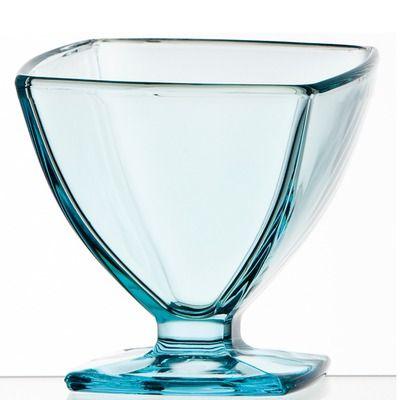 456838bb7c0 La Rochere Carat Blue Tint Ice Cream Dish (Set of 6) | Inspired Hues ...
