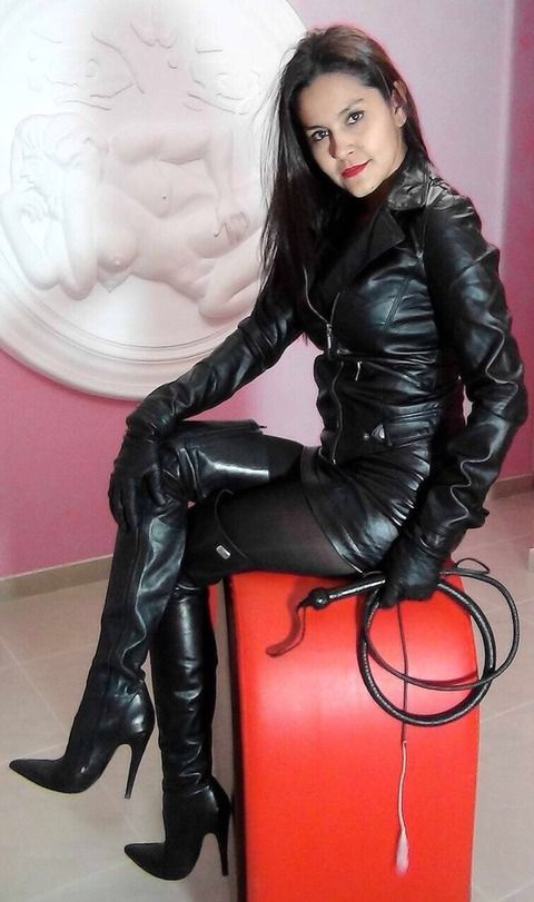 Leather fetish blog
