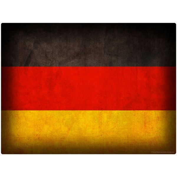 German Flag Vintage Wall Decal Germany Flag Flag Art Flag
