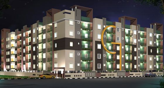 GARUDA PALACE an Luxurious BDA Approved 2 & 3 BHK Apartments for Sale in Hegde Nagar Near Hebbal,Bangalore with all modern amenities. For More Info Call +91-9008912223